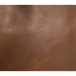 Skóra bydlęca licowa kasztanowa 3,2-3,6mm kawałek