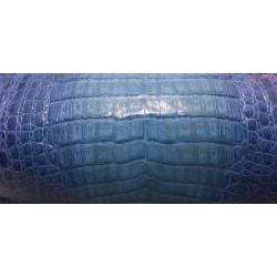 Skóra kajmana niebieska bitone brzuch