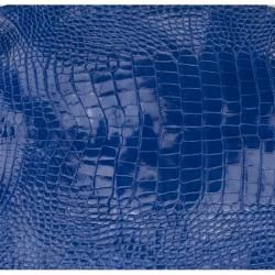 Skóra brzucha aligatora electric blue 36cm