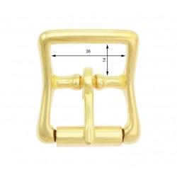 Klamra rymarska z rolką z brązu 20mm