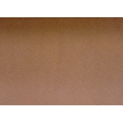 Kark bydlęcy Saffiano 1,2-1,6mm koniakowy