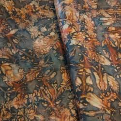 skóra kozia garbowana roślinnie ręcznie barwiona szary 0,6-0,8mm